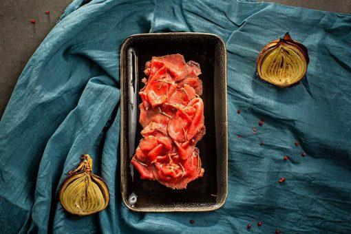 Carpaccio di cervo ristorante affumico bologna