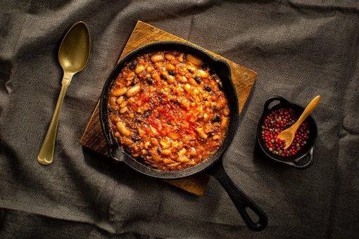 Fagioli con pancetta affumicata ristorante affumico bologna