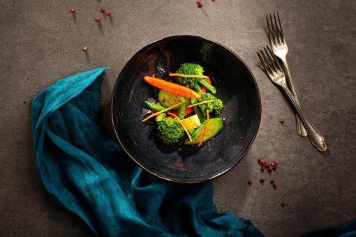 Verdure al burro affumicato ristorante affumico bologna