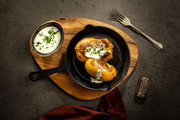 Patata alla brace ristorante affumico bologna